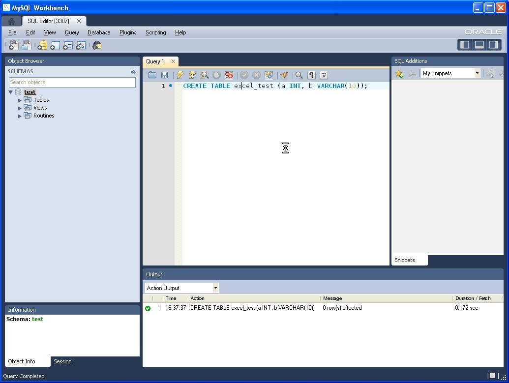 Using mysql for excel - Mysql create table example ...