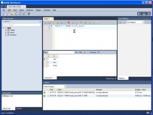 Verify table changes using MySQL Workbench